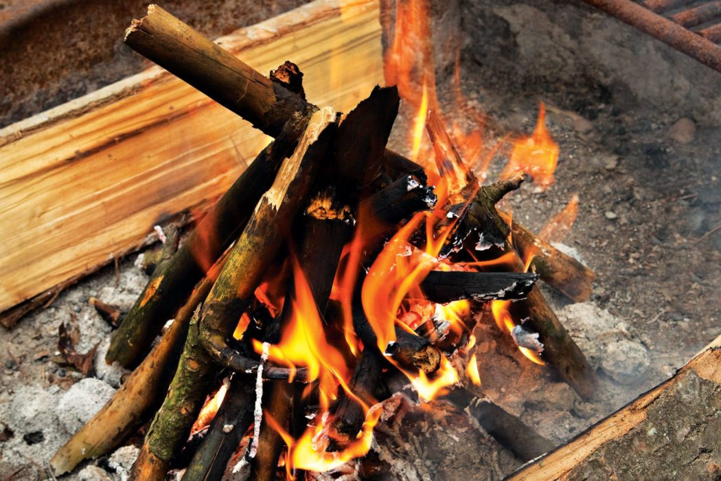 The Basics: Building a Campfire