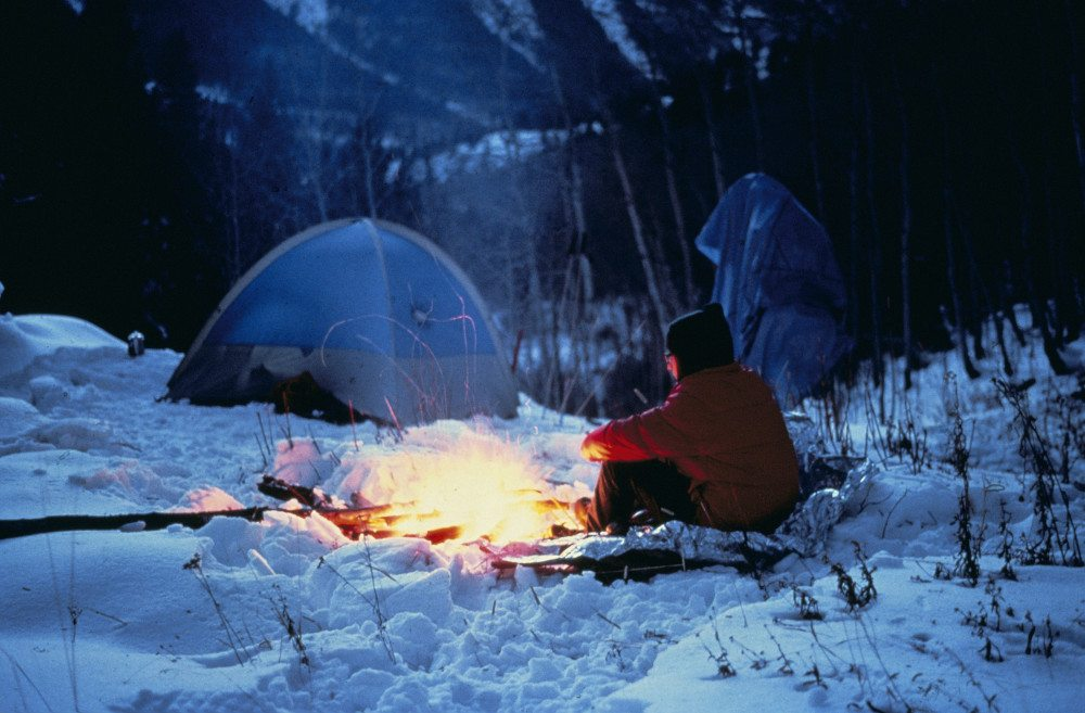 Wearing the Right Clothes for Winter Camping