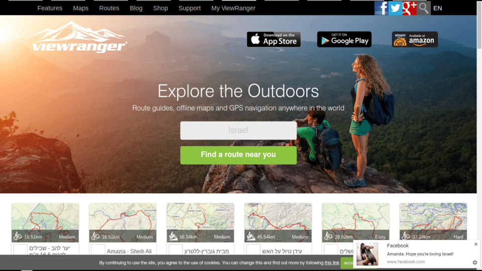 Check Out the First Hiking App for Apple Watch – ViewRanger