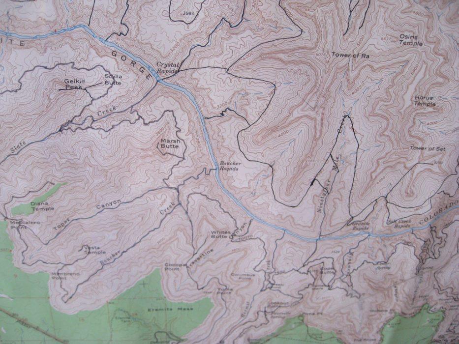 backcountry itinerary