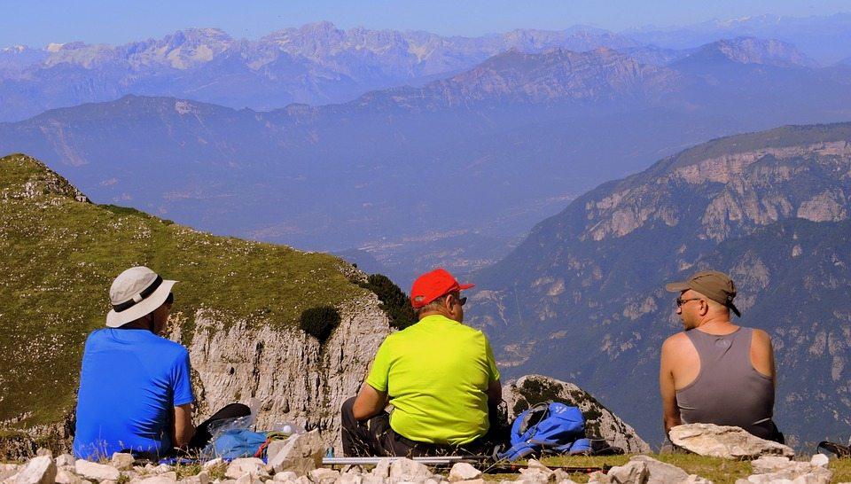 take a break while you hike